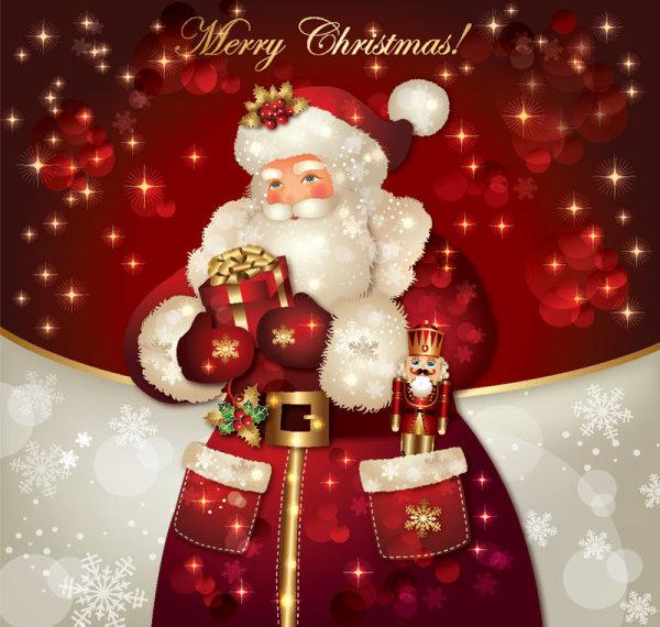 Ornate greeting card of santa claus vector graphics 09 free download ornate greeting card of santa claus vector graphics 09 m4hsunfo