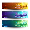 2013 Happy New Year theme banner vector 04