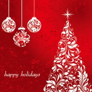 Link toSet of floral christmas card vector 02