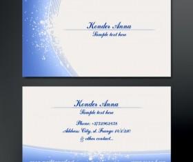 Modern design Business Cards vector set 01