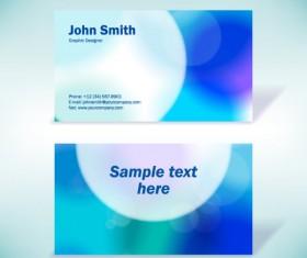 Modern design Business Cards vector set 02