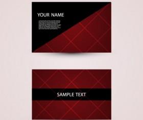 Modern design Business Cards vector set 04