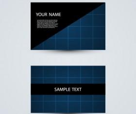 Modern design Business Cards vector set 05