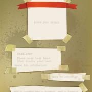 Link toOld labels paper design vector material 03