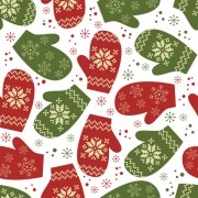Link toDifferent christmas elements pattern vector 02
