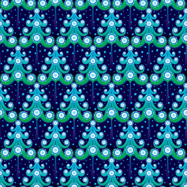 Different Christmas elements pattern vector 03