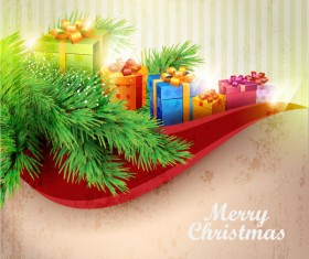 Christmas Decoration elements backgrounds art vector 05