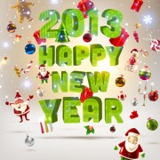 Link toCreative 2013 christmas design art vector 01
