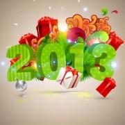 Link toCreative 2013 christmas design art vector 02