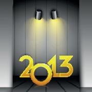 Link toSet of 2013 beautiful greeting card vector 05