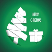 Link toSet of 2013 origami christmas vector material 03