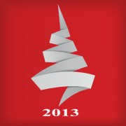 Link toSet of 2013 origami christmas vector material 05