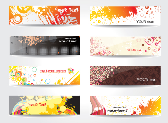 Abstract Banners Design Vector 05 Vector Banner Free Download