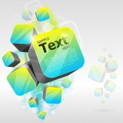 Link toAbstract backgrounds with concept object design vector 04