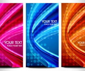 Abstraction of Modern Business cards vector material 04