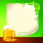 Link toSet of beer and paper poster vector graphic 02