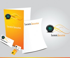 Cover template Brochure and magazine elements vector 01