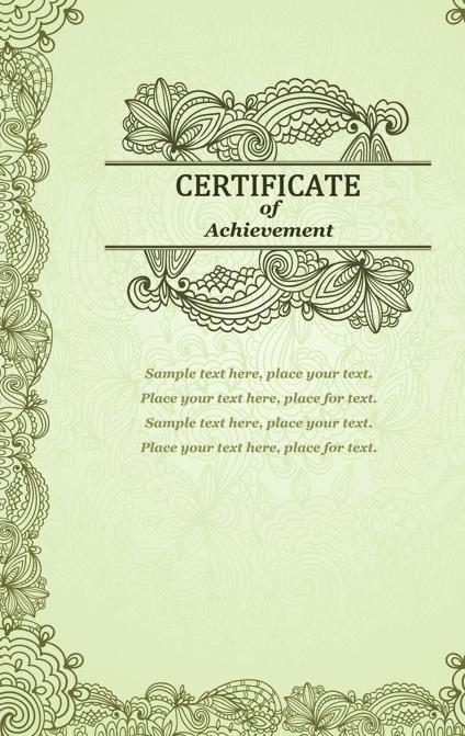 Vector templates of certificates design set 09 free download vector templates of certificates design set 09 yelopaper Choice Image