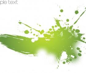Colored splash Garbage vector background 01