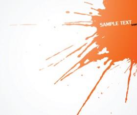 Colored splash Garbage vector background 04