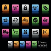 Link toSet of commonly web colorful icons vector 02
