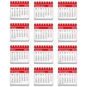 Link toCreative 2013 calendars design elements vector set 17