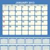 Creative 2013 Calendars design elements vector set 20