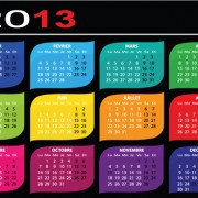 Link toCreative 2013 calendars design elements vector set 22