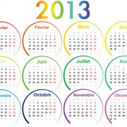 Link toCreative 2013 calendars design elements vector set 25