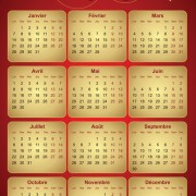 Link toCreative 2013 calendars design elements vector set 26
