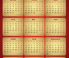 Creative 2013 Calendars design elements vector set 26