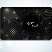 Link toElements of dark style business card design vector 05