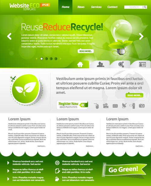 free website template exterior design