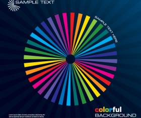 Rainbow of Business backgrounds vector 01