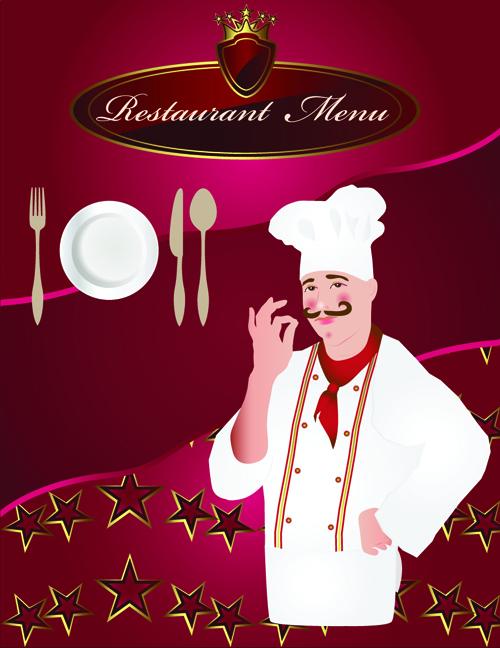 ... menu cover vector set 03 download name exquisite restaurant menu cover