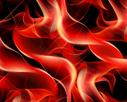 Abstract Flame vector backgrounds art 05