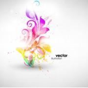Link toSet of floral ornament vector illustration 03