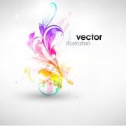 Link toSet of floral ornament vector illustration 04