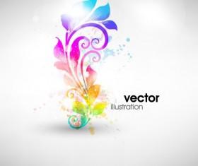 Set of Floral Ornament vector Illustration 05