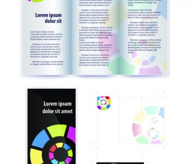 Floral Flyers and Brochures cover vector 01