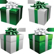 Link toExquisite gift boxes design elements vector 03