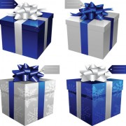 Link toExquisite gift boxes design elements vector 04