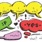 Link toSet of hand drawn speech bubbles vector 05