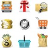 Set of Business Finance Icons vector 02