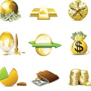 Link toSet of business finance icons vector 05