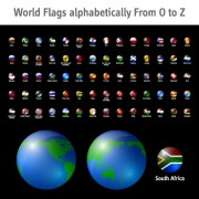 Link toWorld flags icons vector set 02