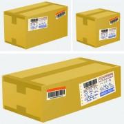 Link toSet of kraft box design vector 02