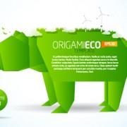 Link toDifferent origami art design vector 07