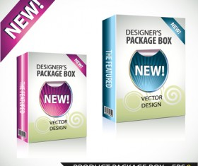 New Product Packaging Boxes design vector 05