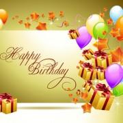 Link toOrnate happy birthday postcards design vector set 02